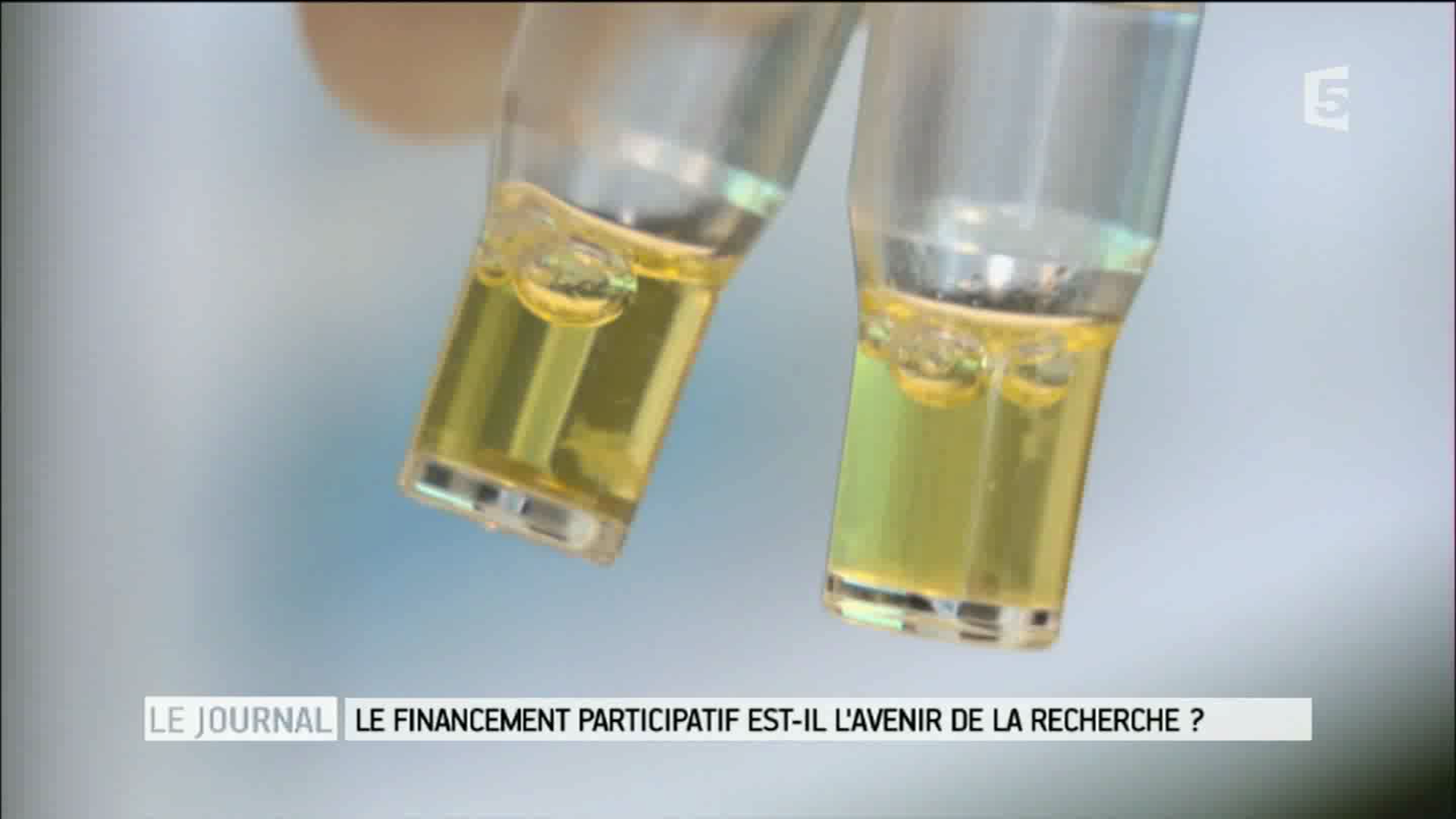 Acticor, a biotech supported by crowdfunding – France 5