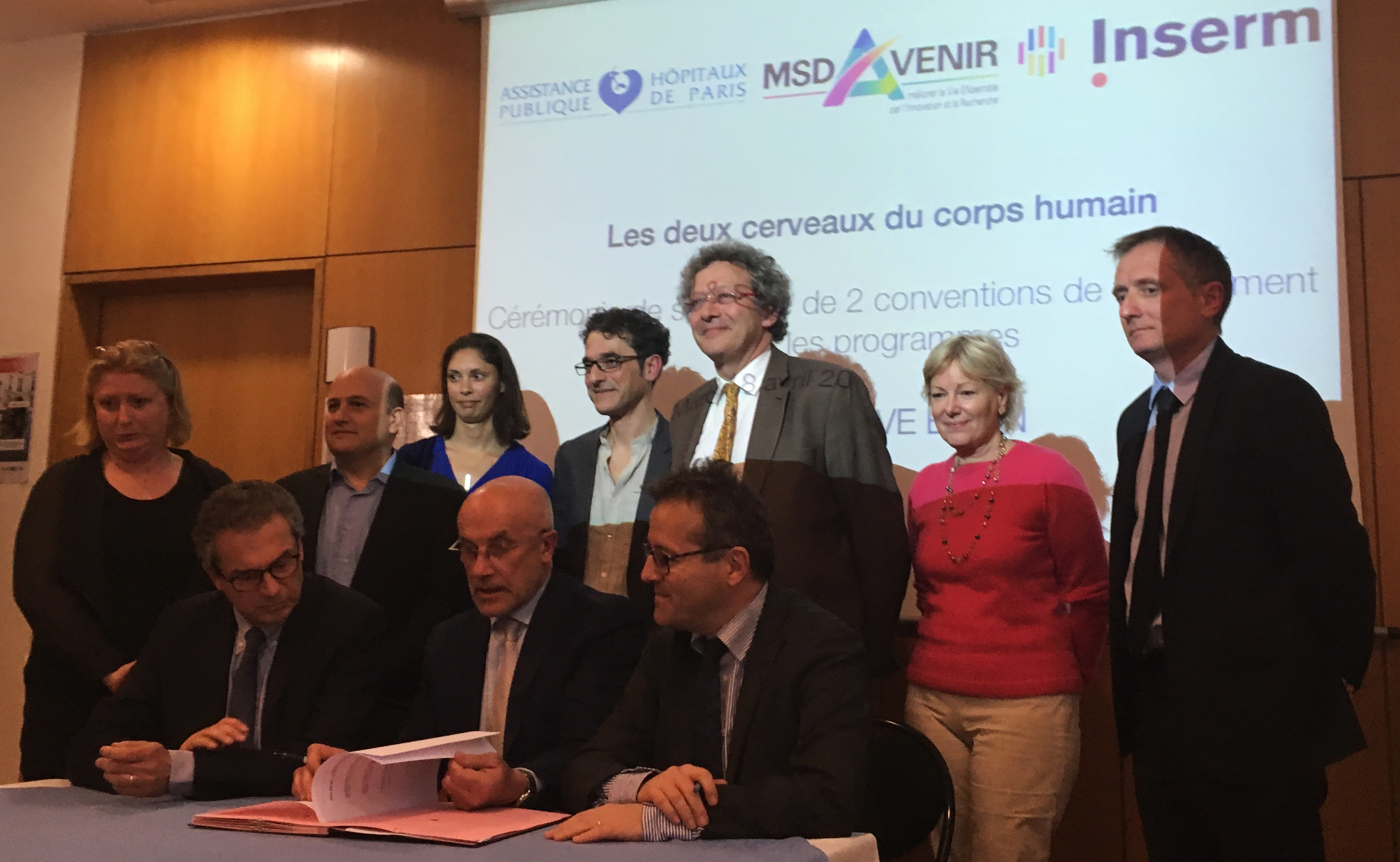 Signature of the SAVE-BRAIN and SURVI MSD-Avenir projects