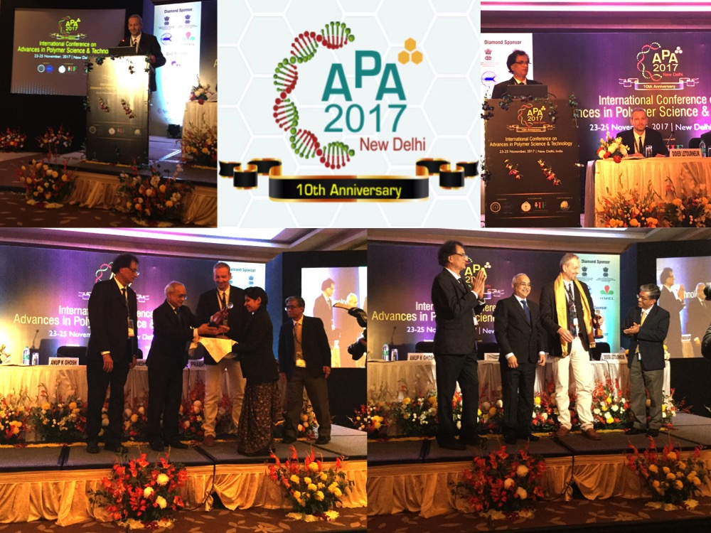 D Letourneur granted the 2017 Asian Polymer Association (APA)'s Jubilee Award