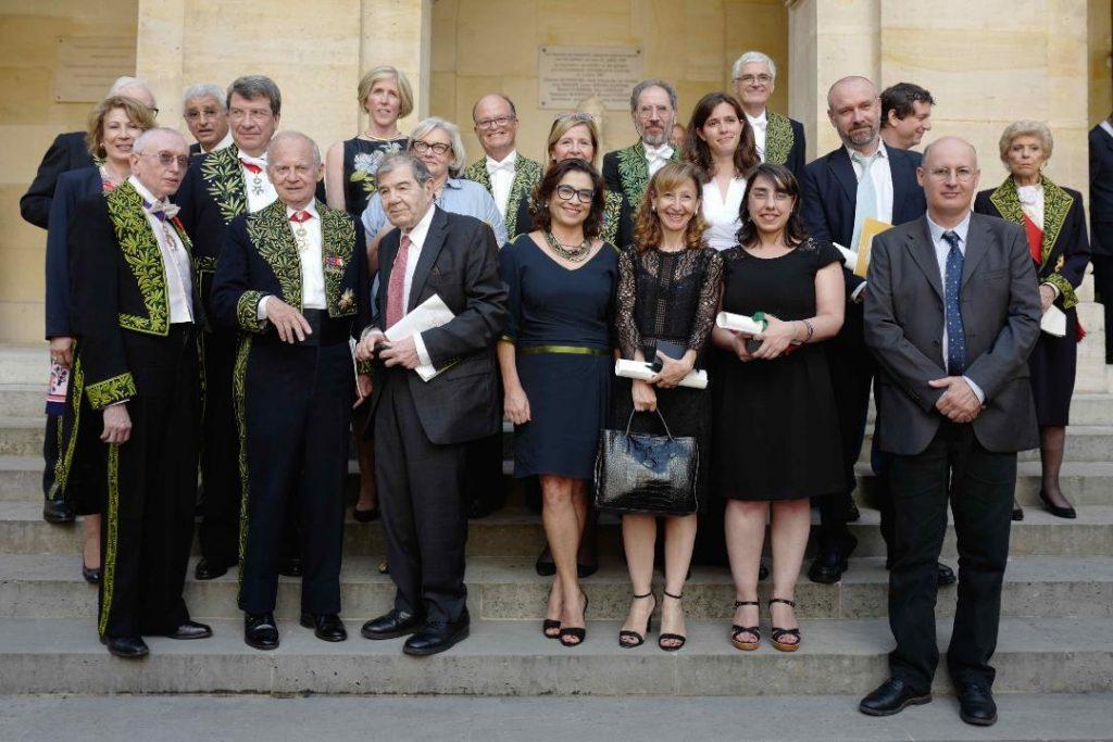 "Catherine Boileau awarded the ""Grand Prix Lefoulon-Delalande 2018"""